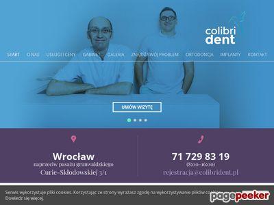 Gabinet Stomatologiczny ColibriDent Wrocław