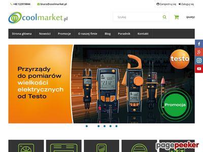 Sklep internetowy Coolmarket Chłodnictwo, Klimatyzacja, Klimatyzacja samochodowa, Części AGD