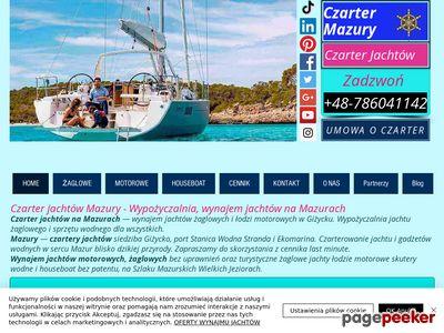 Czarter Mazury - Czarter jachtów -