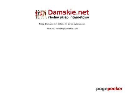 Bluzki damskie i sukienki online w Damskie.net