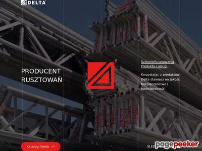 Wynajem rusztowań Delta-bud