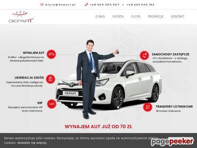 Wypożyczalnia samochodów Depart