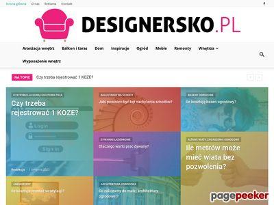 Designersko.pl - sklep internetowy z dobrym designem