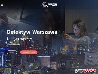 Biuro detektywistyczne Warszawa