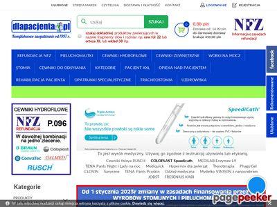 Dlapacjenta.pl - sprzęt medyczny i odzież medyczna