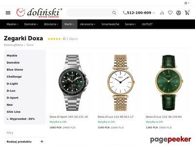 Modne i stylowe, czyli zegarki Doxa Style