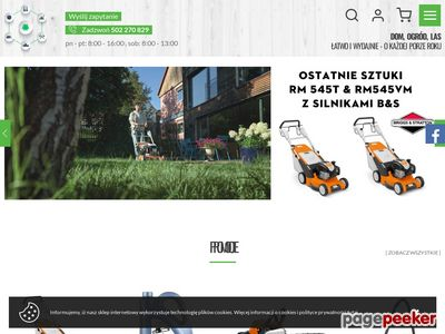 Dom-ogrod-las.pl - sklep Stihl