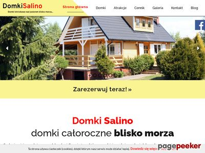 Domeksalino.pl - domki na Kaszubach