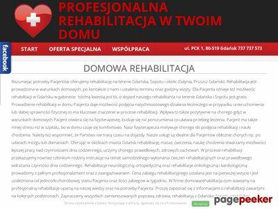 Domowarehabilitacja.com - rehabilitacja Gdynia - prywatnie