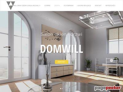 DOMWILL | Salon okien i drzwi