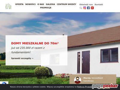 Domki drewniane w Warwszawie - Drewnolandia