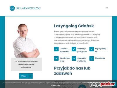 DrLaryngolog.pl - Dmitry Tretiakow