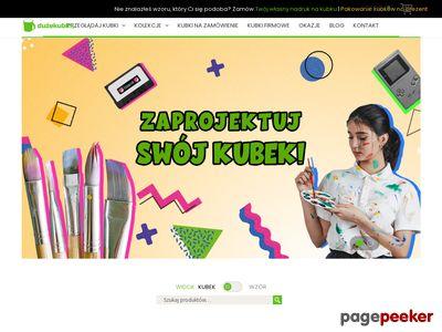 Kubki z własnym nadrukiem - duzekubki.pl