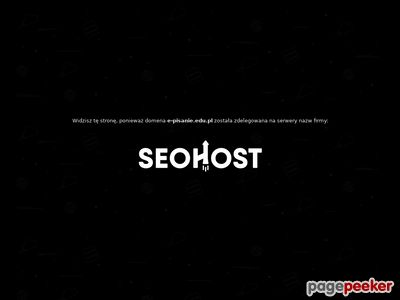 E-pisanie.EDU.pl - pisanie prac