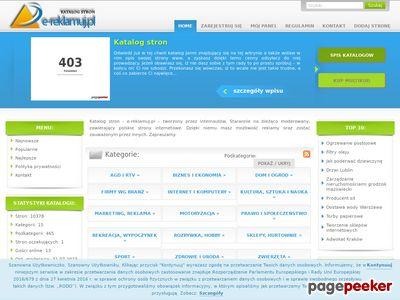 Katalog stron e-reklamuj.pl