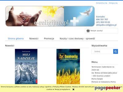 Chrześcijańska księgarnia i dewocjonalia