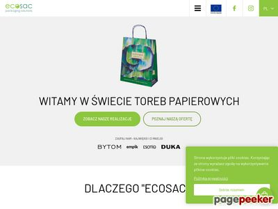 Producent toreb papierowych - Ecosac.pl