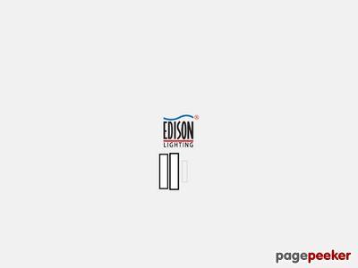 Przedsiębiorstwo Edison - lampy oświetleniowe