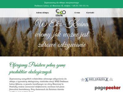 Eko-kraina sklep internetowy zdrowa żywność