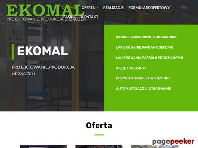 Http://ekomal.pl : kabiny lakiernicze