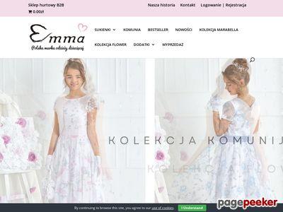 Modne sukienki wizytowe dla dziewczynek