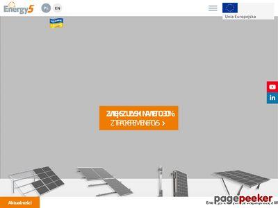 szybki montaż paneli słonecznych