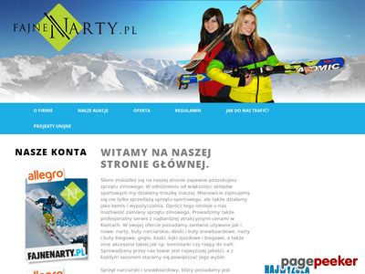 Tanie narty dla dzieci Kielce