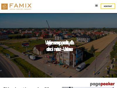 Famix Warszawa drzwi garażowe warszawa
