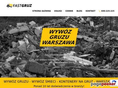 Wywóz śmieci Warszawa