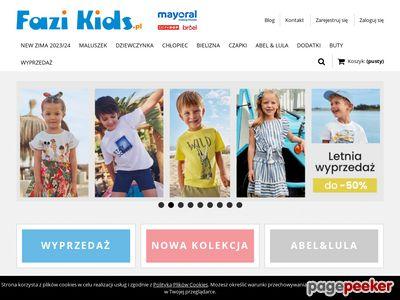 Mayoral ubrania dla dzieci fazikids.pl