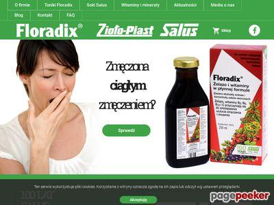 Niedokrwistość z niedoboru żelaza - floradix.pl