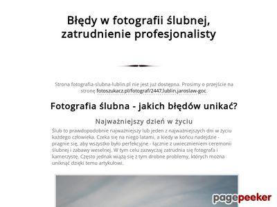 Fotografia Ślubna Lublin Puławy Zamość Chełm