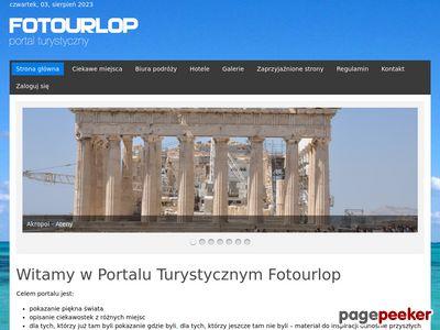 Portal turystyczny FOTOURLOP.PL - Start