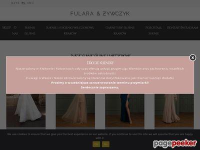 Suknie ślubne Kraków - fularazywczyk.pl
