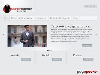 Blog o garniturach - garnitury-poradnik.pl