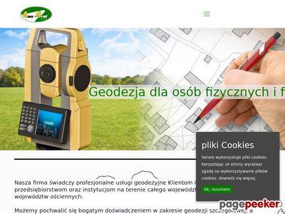 Geo-Graf Sp. z o.o. podział działki gorzów