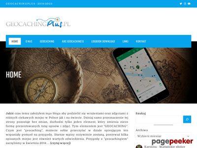 Geocachingplus - Rodzinne poszukiwanie skarbów.