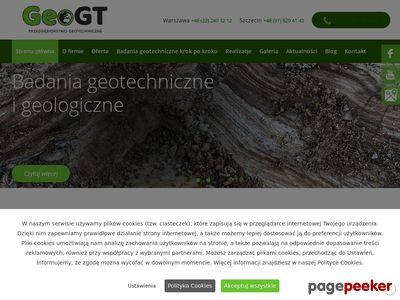 GeoGT - badania geotechniczne