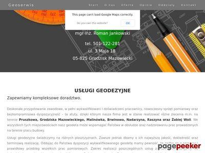 Fachowe usługi geodezyjne