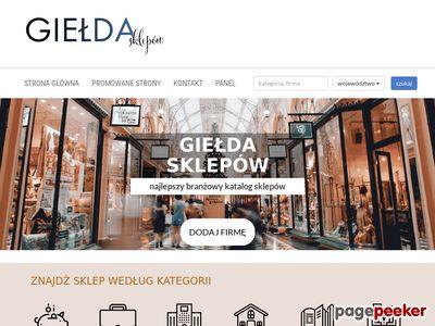 Katalog sklepów
