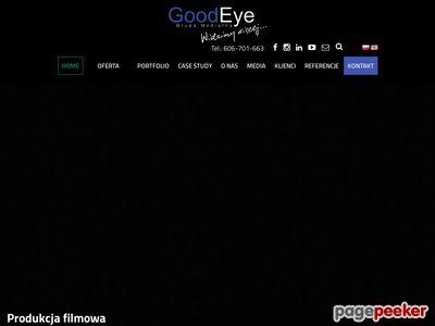 GoodEye - Produkcja filmowa