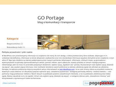 GO Portage - blog o komunikacji i transporcie
