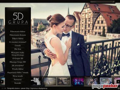 Grupa 5D - profesjonalne zdjęcia i filmy ślubne