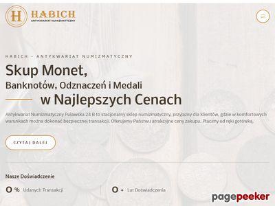 Sklep numizmatyczny Warszawa