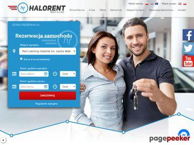 HaloRent - Wynajem samochodów Gdańsk