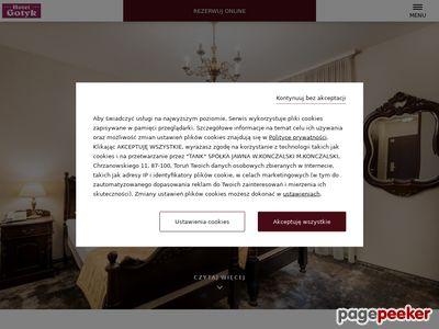 hotel-gotyk.com.pl