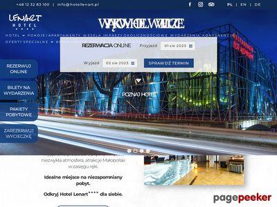 Hotel Lenart w Wieliczce pod Krakowem