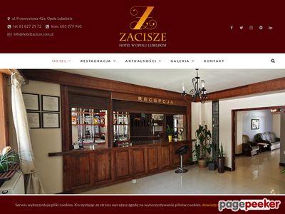 Hotel Zacisze - Hotel, pokoje - Opole Lubelskie