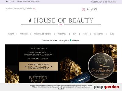 Drogeria internetowa - House of Beauty