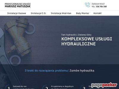 Hydraulika, Instalacje Sanitarne i Gazowe